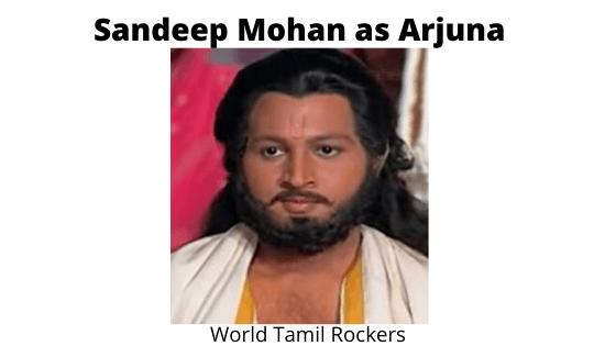 Sandeep Mohan as Arjuna - Shri Krishna Cast
