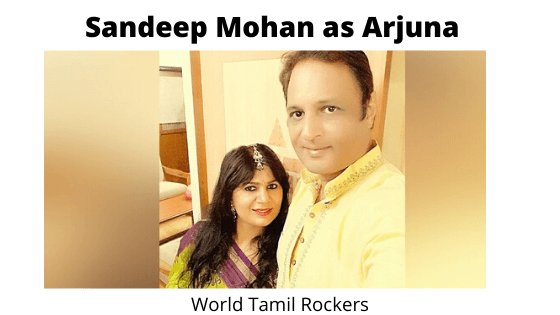 Sandeep Mohan as Arjuna - Shri Krishna