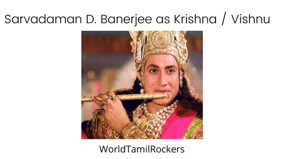Sarvadaman D. Banerjee as Shri Krishna
