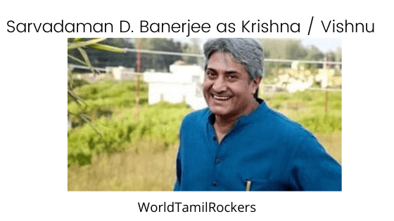 Sarvadaman D. Banerjee as Krishna _ Vishnu,shri krishna cast